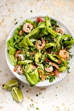 Shrimp citrus salad 3