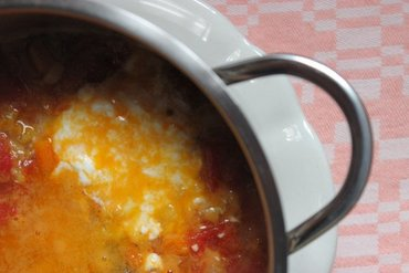 Red lentils and ginger soup