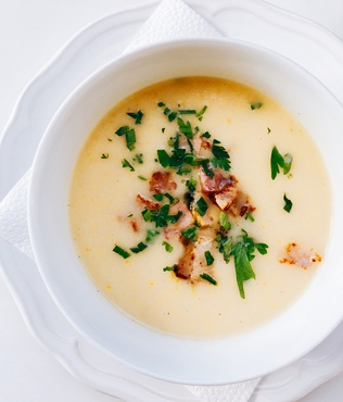 Soup+with+bacon